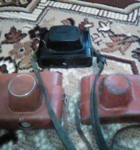 Фотоаппараты 3 штуки СССР