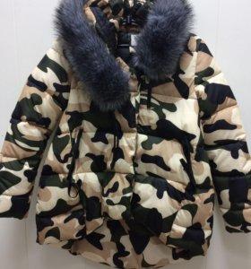 Куртки новые зима