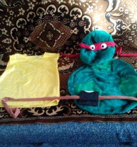 Новогодний костюм Черепашки ниндзя (Раф)