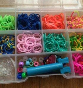 Набор для плетения из резинок rainbow loom bands