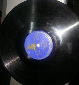 Пластинки для граммофона