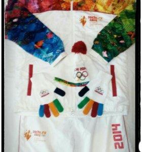 Форма факелоносца ( Sochi 2014)