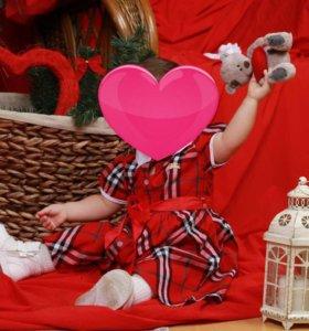 Платье для девочки 1,5 -2 года