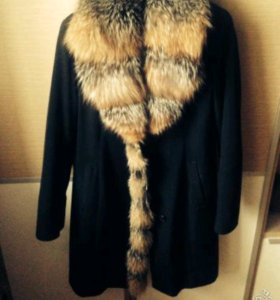 Зимне-осенее пальто 50-52