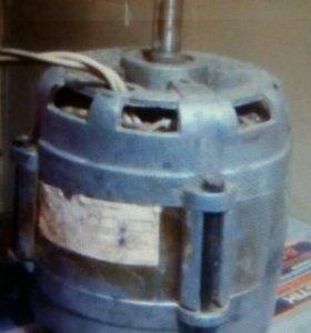 Электро двигатель рабочий с кнопкой