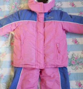 Зимний комбинезон + куртка