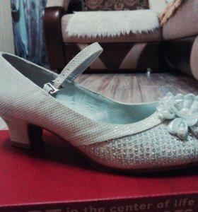 Туфли детские,для девочки,35 размер