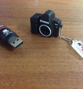 Флешка в виде фотоаппарата
