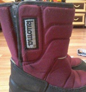 Зимние ботинки Куома