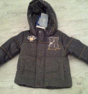 Новая курточка на мальчика р.74