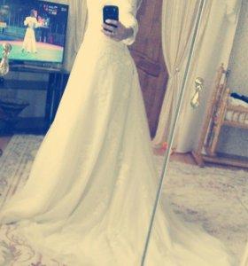 Свадебное платье) продажа) аренда