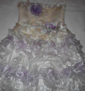 Бальное платье на корсете