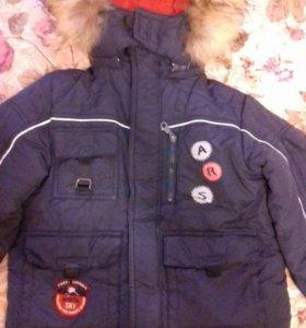 Куртка зимняя р.110