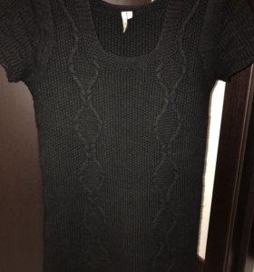 Дизайнерское платье. 100% шерсть