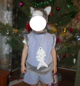 Новогодний костюм Котик