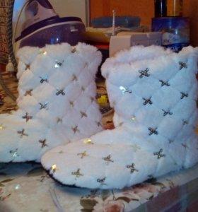 Носочки очень теплые
