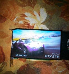 Видеокарта Leadtek gtx 275