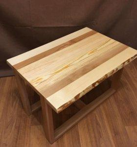 Журнальный столик. Дерево бук, Сосна.