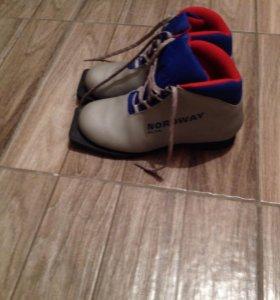 Обувь для спорта,лыжные ботинки