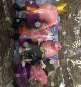 Набор свинка Пэпа и друзья