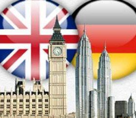 Английский, немецкий