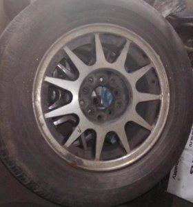 R14  литье с летней резиной , 89503030722