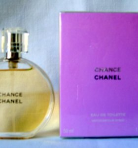 Chanel Chance(50) edt women. Раритет