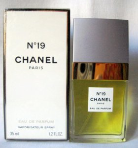 Chanel N19 (35) edp women. Раритет