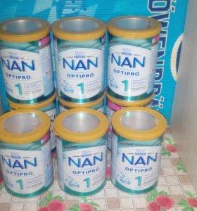 Сухая молочная смесь NAN с рождения