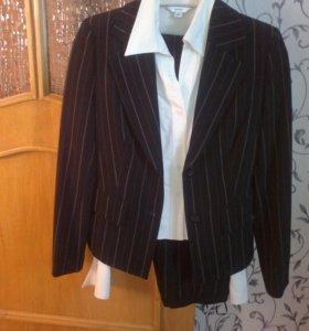Пиджак+рубашка