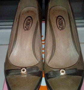 Туфли из натуральной кожи 36 р.