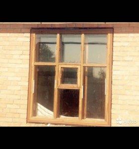 Продаю оконные блоки со стёклами