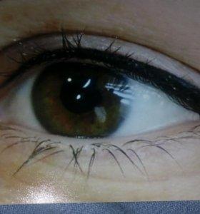 Татуаж глаз, межресничная зона