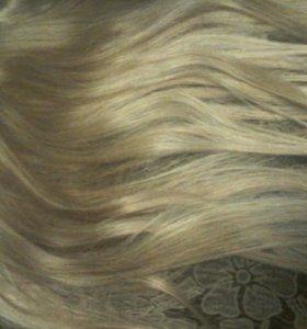Натуральные волосы (русые)