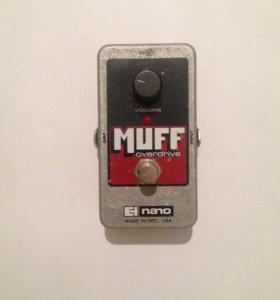 Muff overdrive electro-harmonix nano