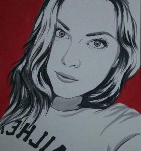 Pop-art портреты