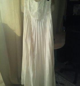 Платье вечернее,  свадебное для беременной