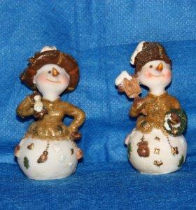 Сувениры Новогодние Снеговики