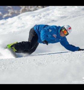 Инструктор сноуборд и горные лыжи