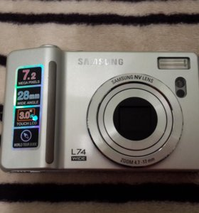 Цифровой фотоаппарат Samsung L 74 + чехол
