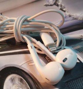 Оригинальные наушники Apple Earpods Iphone 6S,7