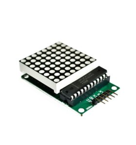Arduino Interfacing MAX7219 Operates 8X8 LED Matrix