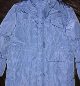 Зимняя теплая куртка 8-10 лет