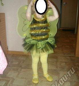 Пчелка  86-92 костюм карнавальный!