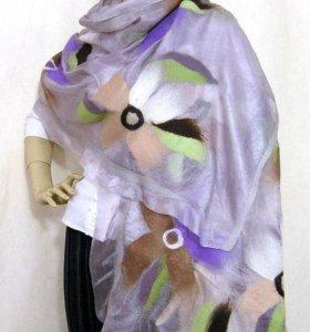Палантин-шарф (ручная работа)