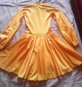 Платье два солнца.бальное