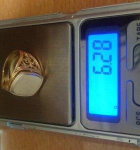 Золото 585 пробы , печатка