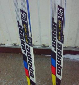 Лыжи коньковые salomon junior