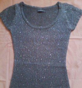 Платье-туника тёплое