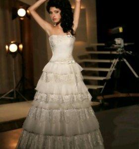 Свадебное дизайнерское платье-трансформер